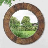 Found it at Wayfair - Recycled Fir Wood Wide Border Wall Mirror