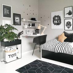 beautiful minimalist home office ideas you must know 19 Home Office Design, Home Office Decor, Home Decor, Office Ideas, Room Ideas Bedroom, Bedroom Decor, College Room Decor, Monochrome Bedroom, Cute Room Decor
