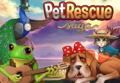 Each level of Pet Rescue Saga has a different objective–sometimes you need to clear at least 80 percent of the blocks, other times you need to meet a minimum score, and sometimes you only have a set amount of moves to complete any objective. #games #gaminglife #pro #awesome #cool #casualgame #android #iOS