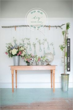diy decor ideas | CHECK OUT MORE IDEAS AT WEDDINGPINS.NET | #weddings #weddingflowers #flowers