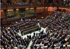"""Cámara de Diputados italiana (Crédito de la foto: REUTERS) Durante muchas décadas Italia ha evitado tomar plena responsabilidad por lo que pasó durante la guerra, buscando refugio en el mito de la 'Italiani brava gente' (""""buen pueblo italiano"""")."""