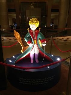 Artist Arnaud Nazareth-Aga and PAJ'Art Studio have created 14 hand-painted sculptures representing the major characters straight out of the world-renowned book, The Little Prince by Antoine de Saint Exupéry.