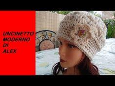 Crochet Turban, Crochet Beanie, Knit Crochet, Crochet Hats, Vintage Crochet, Beret, Hats For Women, Mittens, Crochet Patterns
