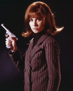 "Stefanie Powers as 'April Dancer' in ""The Girl from U.N.C.L.E."" (1966-67, NBC)"