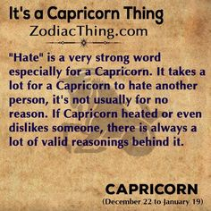 If I am a bitch to you, you'd better believe I have a pretty damned good reason. Capricorn Sun Sign, Capricorn Compatibility, Capricorn Rising, Astrology Capricorn, Capricorn Women, Capricorn Quotes, Aquarius Horoscope, Capricorn Facts, Zodiac Sign Facts