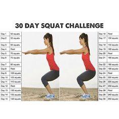 Mumma G!: 30 Day Squat Challenge