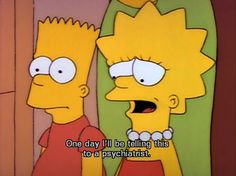 """lisa"" - The Simpsons Way of Life Simpsons Frases, Memes Simpsons, Lisa Simpson, The Simpsons Tumblr, Simpson Tumblr, Los Simsons, Disneyland, Cartoon Quotes, Cartoon Memes"