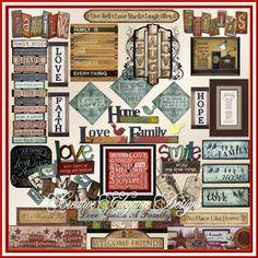 Scrapbooking TammyTags -- TT - Designer - Creative Elegance Designs, TT- Item - Word Art
