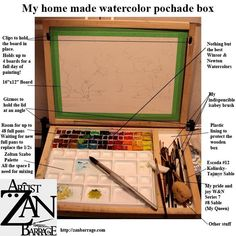 Which plein air watercolor palette/paintbox? - Page 4 - WetCanvas
