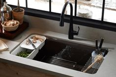 @Kohler Co. Riverby Sink - So perfectly utilitarian!