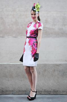 Introducing Sarah Schofield, former Melbourne Cup Carnival Fashions on the Field winner! Race Day Fashion, Races Fashion, Fashion Models, Race Day Outfits, Cool Outfits, Dresses For The Races, Dresses For Work, Melbourne Cup Fashion, Carnival Fashion
