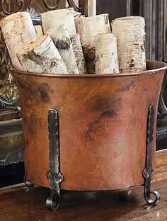 Log holder and Fireplace accessories