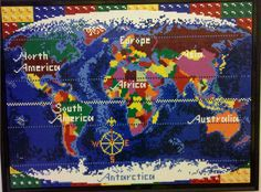 Lego ideas world map need your support lego pinterest world lego world map gumiabroncs Image collections