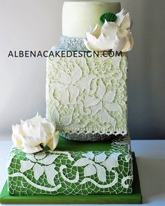 Wedding cakes, so check out this really eye pleasing idea number 5000779906 now. Whimsical Wedding Cakes, Wedding Cake Fresh Flowers, Small Wedding Cakes, Square Wedding Cakes, Luxury Wedding Cake, Beautiful Wedding Cakes, Beautiful Cakes, Cake Flowers, Lotus Cake