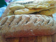 Light bread and Focaccia