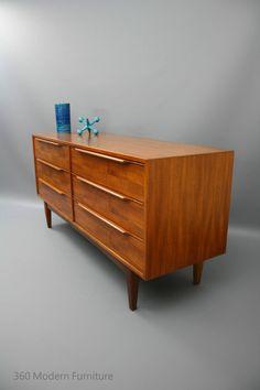 MID CENTURY Modern Sideboard Drawers Lowline Hayson, Cliff Hayton, Teak Retro Vintage Parker era 360 Modern Furniture in Narre Warren, VIC   eBay