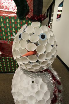 Cheap Halloween Decoration Ideas For Outside, Cheap Ideas For Outdoor Halloween . Halloween Decorations Inside, Christmas Cubicle Decorations, Office Decorations, Cube Decor, Halloween Facts, Halloween Ideas, Christmas Diy, Christmas Ornaments, Christmas Games