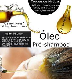 umectação nutrição capilar, óleo no cabelo seco  http://jurovalendo.com.br/2013/11/03/oleo-pre-shampoo-o-cabelo-agradece/