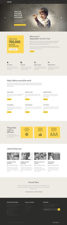 Charity, Fundraising, yellow, concept