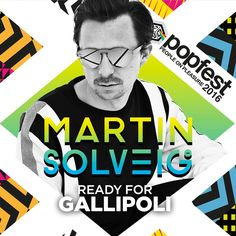 """Martin Solveig IS READY FOR Popfest - People on Pleasure  Il famoso dj parigino noto al mondo per aver vinto ben 5 dischi di platino con la sua """"Hello"""" e per altre hit come """"Intoxicated"""", """"Ready to go"""", """"Jealousy"""" vi aspetta questa estate a Gallipoli con la sua nuova hit """"+1""""  #martinsolveig #popfest #popfestitaly #hello #summer #2016"""