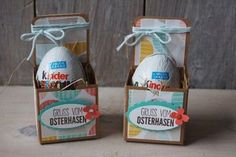 Today I will show you how to make a quick Easter egg packaging. - Today I will show you how to make a quick Easter egg packaging. I used Stampin 'Up! Hoppy Easter, Easter Eggs, Diy Crafts To Do, Paper Crafts, Stampin Up Ostern, Easter Bunny Pictures, Egg Packaging, Envelope Punch Board, Stamping Up