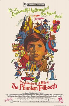 """""""The Phantom Tollbooth"""" > 1970 > Directed by: Chuck Jones, Abe Levitow & Dave Monahan  > Family / Adventure / Animation / Children's Fantasy / Children's Family / Fantasy"""