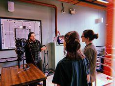 Engineering's Alex Enman demos the ARRI ALEXA Mini with interns Laura (go Suffolk University) and Jimmy (yeah Lesley University). Suffolk University, Good Cause, Feature Film, Workplace, Documentaries, Boston, This Is Us, Mini, Check