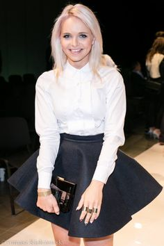 Flared skirt and white shirt Rozkloszowana spódnica i biała koszula  http://www.barracudawear.pl/basic/spodnica-rozkloszowana/  http://www.barracudawear.pl/ss14/biala-koszula/