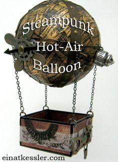 Steampunk Hot-Air Balloon