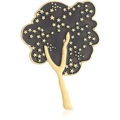 """Marc Jacobs """"Fall 2016"""" Guilloche Enamel Tree Brooches and Pin (600 CNY) ❤ liked on Polyvore featuring jewelry, brooches, enamel brooches, pin brooch, marc jacobs, marc jacobs jewellery and marc jacobs jewelry"""