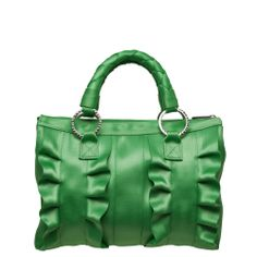 Lola Satchel Kelly Green- Harveys Seatbelt Bags