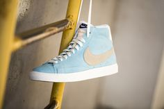 """The Nike quickstrike """"Ice Cream Pack"""" with three beautiful pastel colorways on the Blazer Mid PRM Vintage is available at our shop now! EU 37,5 - 45   100,-€"""