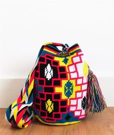 WAYUU MOCHILA BAG BLACK