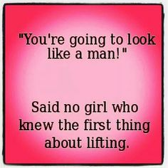 This drives me crazy when I hear women say this.