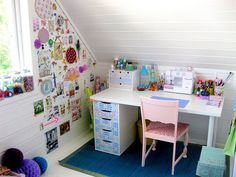 delightful sewing space