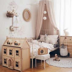 Today there is a picture from the Kuschelecke. Above the bed hangs a new ball . Über dem Bett hängt ein neuer Ball… Today there is a picture from the Kuschelecke. Baby Room Design, Baby Room Decor, Kid Decor, Decor Ideas, Little Girl Rooms, Girls Bedroom, Bedroom Ideas, Kid Bedrooms, Bedroom Art