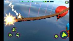 Bike Stunt Tricks Master 3D Racing Android Gameply #5 Motorbike Game, 3d Racing, Stunts, Channel, Android, Waterfalls