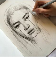 Brooklyn - # let & # s like - makaron - - Cool Art Drawings, Pencil Art Drawings, Art Drawings Sketches, L'art Du Portrait, Portraits, Art Du Croquis, Photographie Portrait Inspiration, Artist Sketchbook, Drawing People