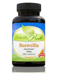 Boswellia Capsules-Powerful Anti-Inflammatory. absorbyourhealth.com