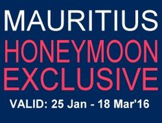 Honeymoon Specials, Mauritius 2016 Exclusive Honeymoon Offers Mauritius Honeymoon, Romantic Honeymoon Destinations, All Inclusive Honeymoon, Inclusive Holidays, Honeymoon Places, Honeymoon Packages, Honeymoon Special, Travel Specials, Beach Trip