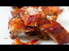 Easy Fall-Off-The-Bone Oven Baked Ribs Recipe | Inspired Taste - Easy Recipes for Home Cooks