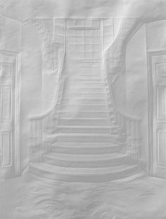 Treppe aus dem Wasser, Simon Schubert