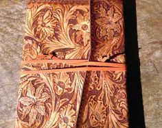 tooled leather journals - Google Search