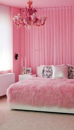 Sleeping on pink looks so much better