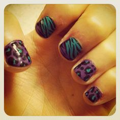 My nails!!:) super easy to do!!
