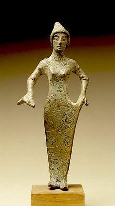 Etruscan bronze statue 4th C,  BCE