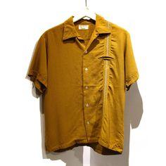 ビンテージ タウンクラフトオープンカラーシャツ【TOWNCRAFT】【1960's】VINTAGE LOOP SHIRTS - RUMHOLE beruf online store