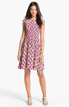kate spade new york 'blaire' silk dress available at #Nordstrom