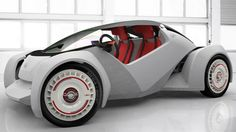This amazing and cool car named Strati is the world's first fully 3D printed car, and from start to finish, it only took 44 hours to print and assembly it. #infographic