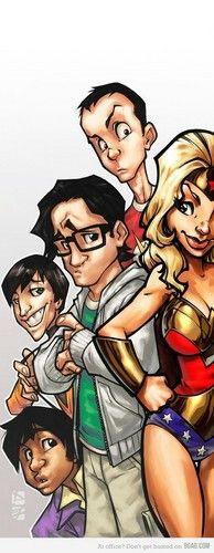 The Big Bang Theory Penny as Wonder Woman